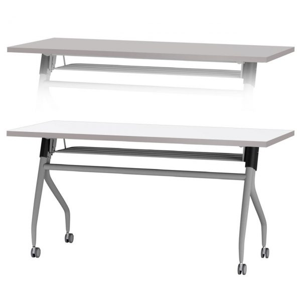 Nifty Dual Side Portable Table White Grey 51871.1427311007.1280.1280